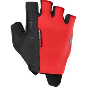 Castelli Rosso Corsa Espresso Gloves Men red